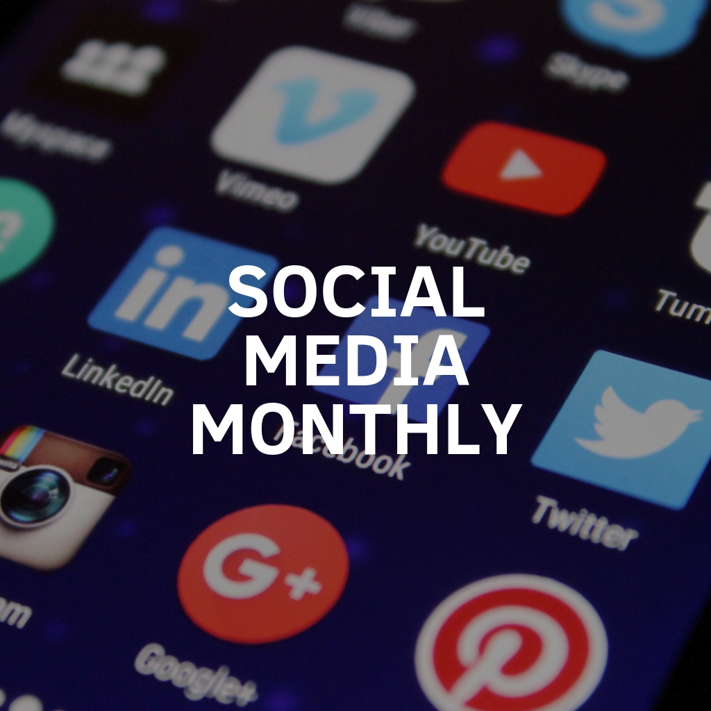 Social Media Management Monthly Services