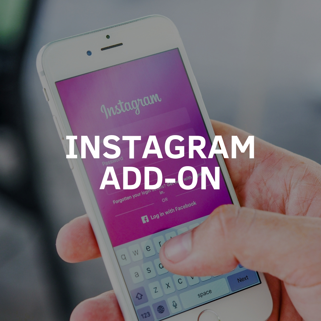 Instagram Add On To Social Media Monthly Services